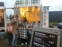 Elke vrijdag, zaterdag en zondag staat foodtruck La Deutscha Vita op het middenplein bij Almeerplant in Almere